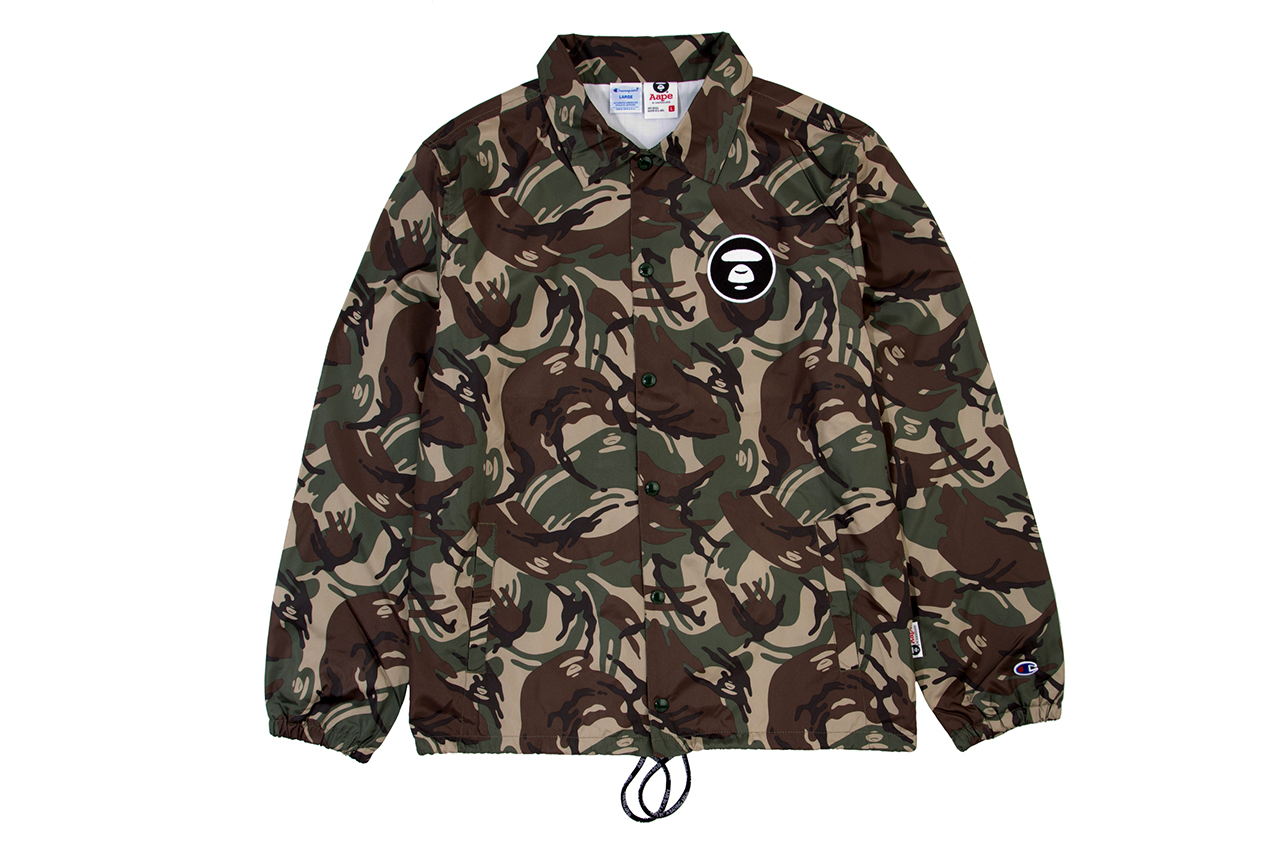 AAPE by A Bathing Ape x Champion 2014 Spring/Summer Collection