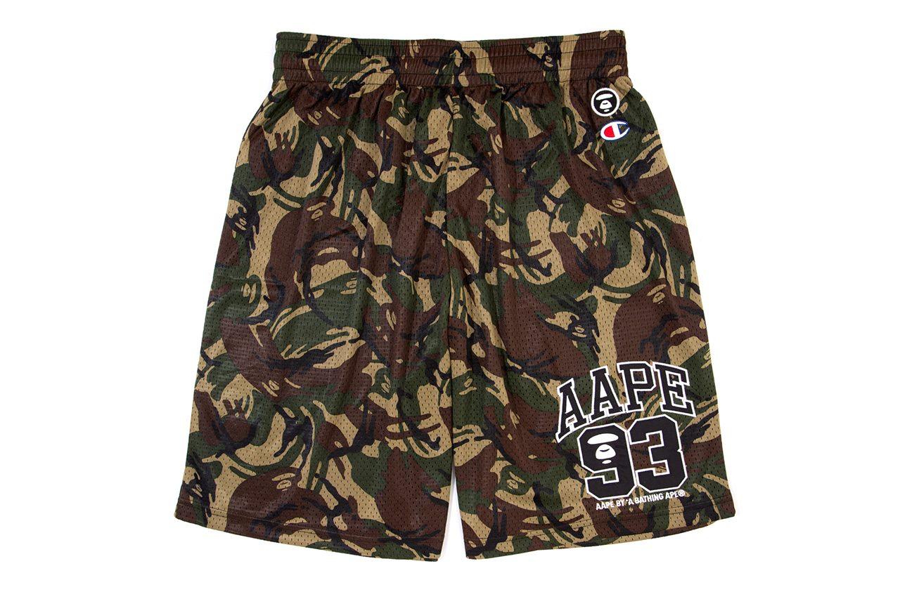 aape by a bathing ape x champion 2014 spring summer collection