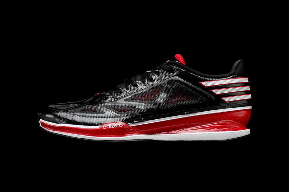 adidas adiZero Crazy Light 3 Low Black/White/Red