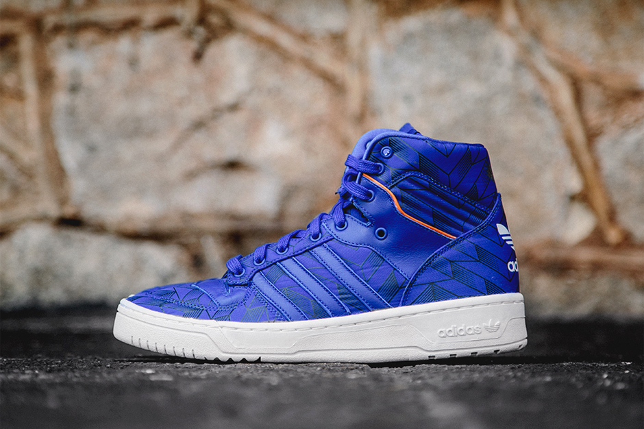 adidas Originals Rivalry Hi True Blue/Electric Yellow