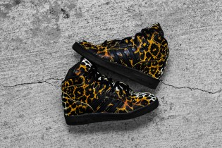 "adidas Originals by Jeremy Scott 2014 Spring/Summer Instinct Hi ""Leopard"""