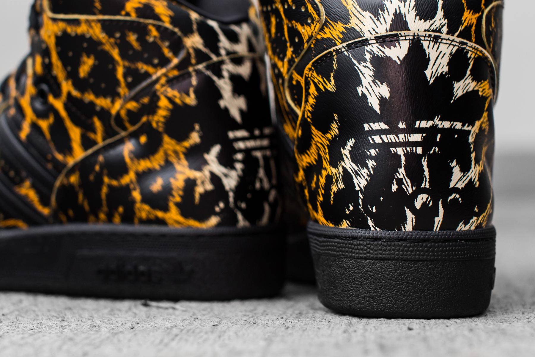 adidas originals x jeremy scott 2014 spring summer leopard shoe