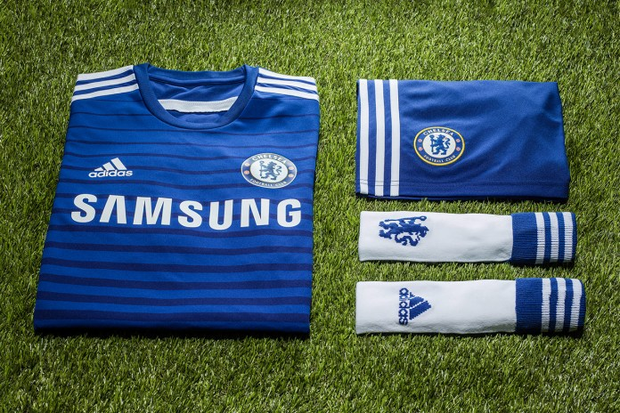 adidas Unveils Chelsea FC's New 2014/15 Home Kit