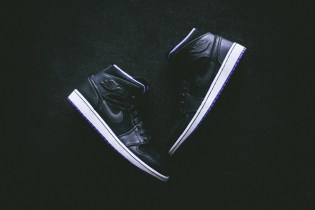 "Air Jordan 1 Mid ""Nouveau Purple"""
