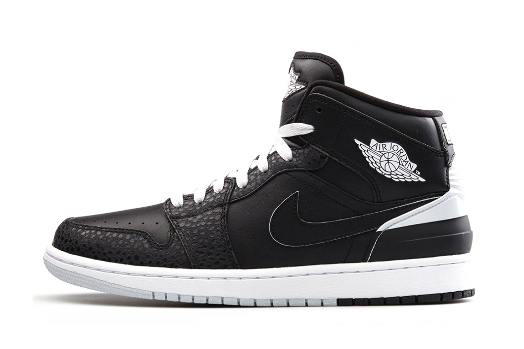 Air Jordan 1 Retro '86 Black/White-Pure Platinum