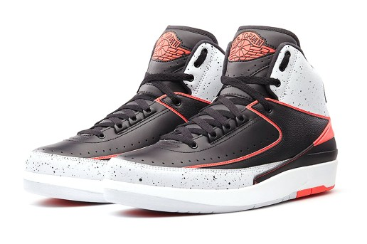 "Air Jordan 2 Retro ""Infrared 23"" Preview"