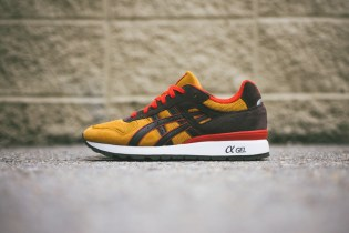ASICS GT-II Tan/Dark Brown