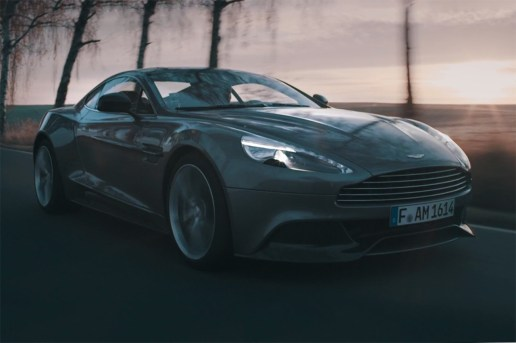 "Aston Martin ""The Art of Vanquish"" Short Film"