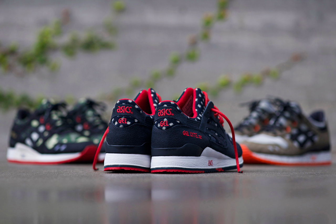 bait x asics gel lyte iii basics model 003 nippon blues preview