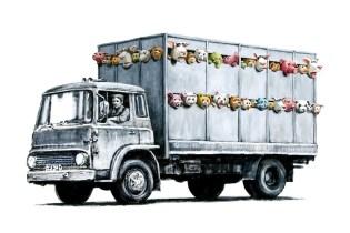Banksy 'Meat Truck'