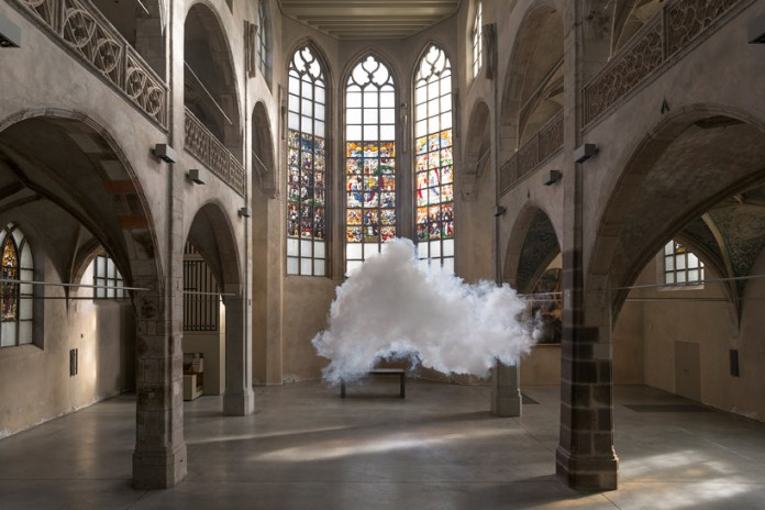 "Berndnaut Smilde ""Antipode"" Exhibition @ Ronchini Gallery"