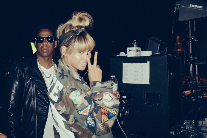 Beyoncé & Jay Z Share Candid Snaps from Coachella