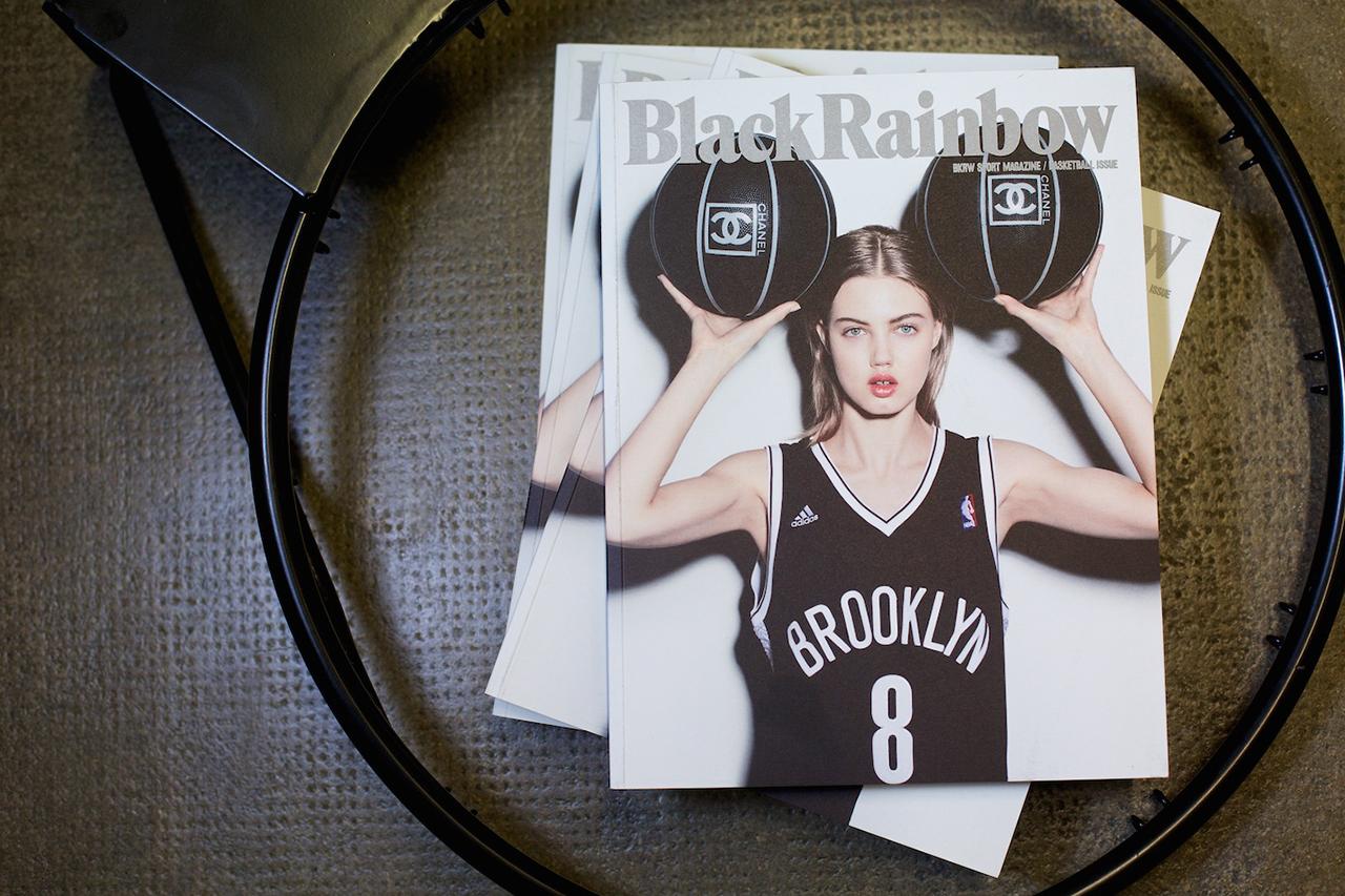 blackrainbow bkrw sport magazine basketball issue