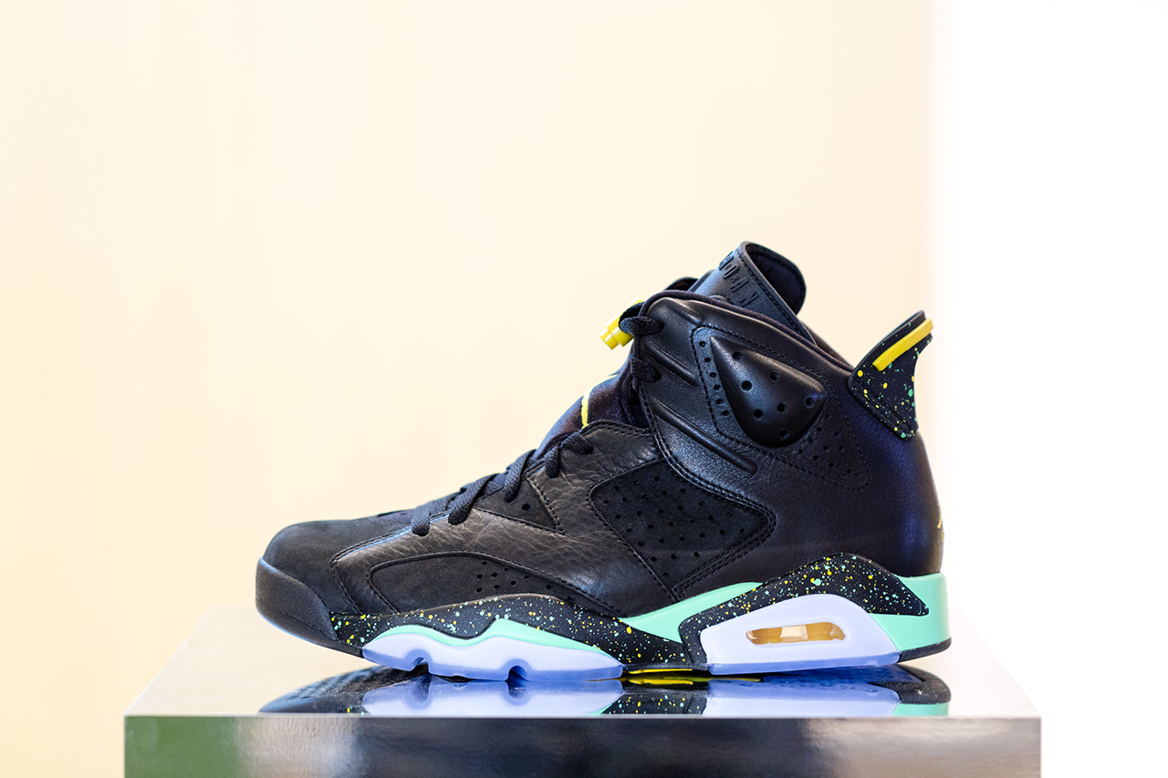 a first look at the upcoming 2014 world cup brazil air jordan 6