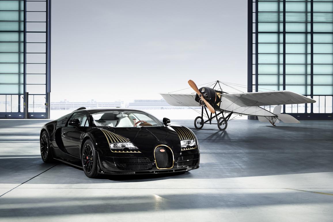 "Bugatti Legends Veyron 16.4 Grand Sport Vitesse ""Black Bess"" Edition"
