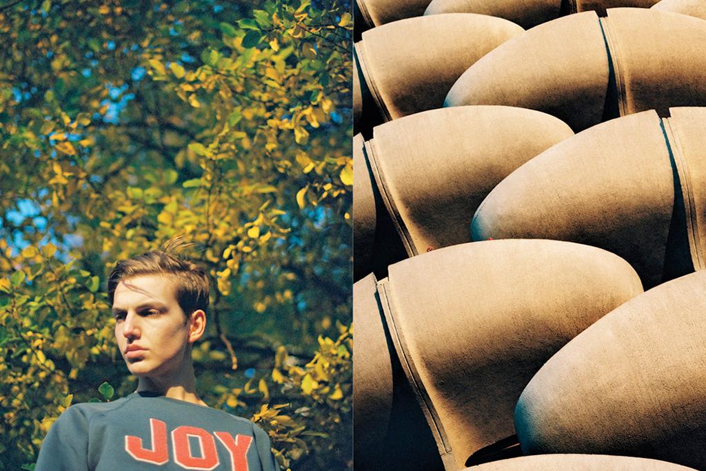 """BWGH for PUMA 2014 Spring/Summer """"JOY"""" Lookbook"""