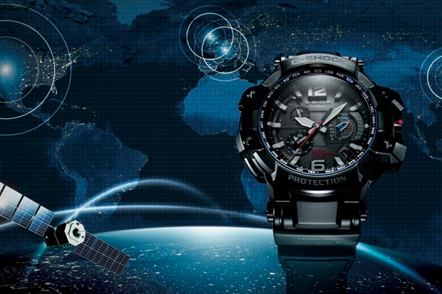 Casio G-Shock Debuts its GPS-Enabled GPW1000