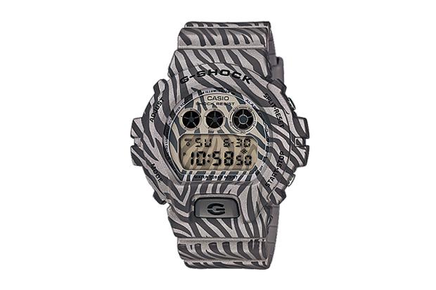 casio g shock dw 6900zb zebra camouflage series