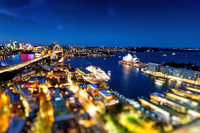 Check Out Sydney in this Beautiful Tilt-Shift Video