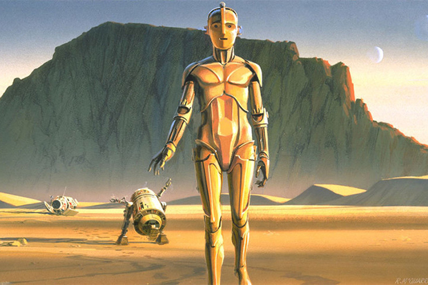 Check Out This Original 'Star Wars' Concept Art by Ralph McQuarrie