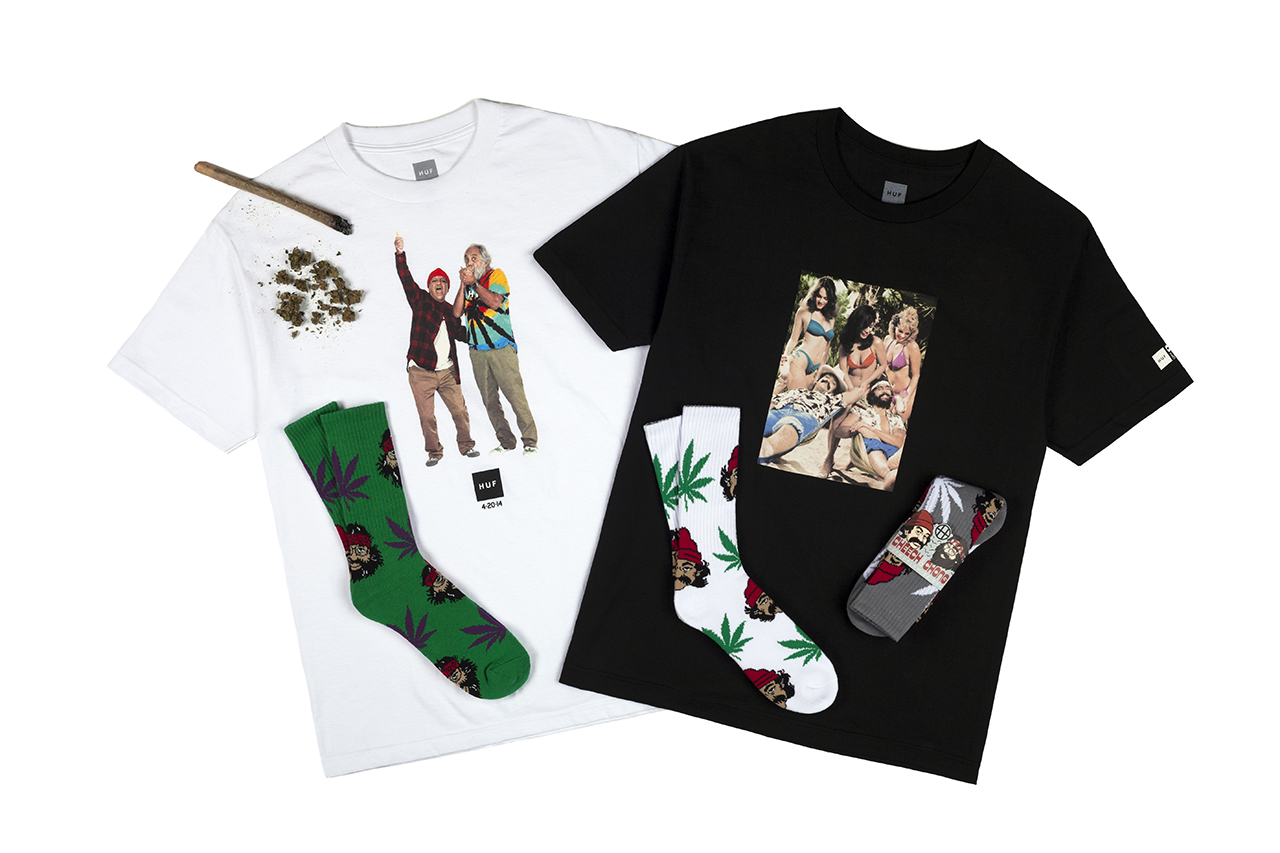 "Cheech & Chong x HUF 2014 ""420"" Collection"