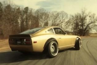 A 1975 Datsun 280Z Under the Watchful Eye of Formula Drift Champion Chris Forsberg