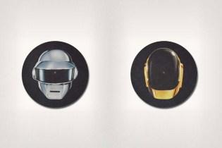 """Daft Punk """"Split Helmet"""" Slipmats"""
