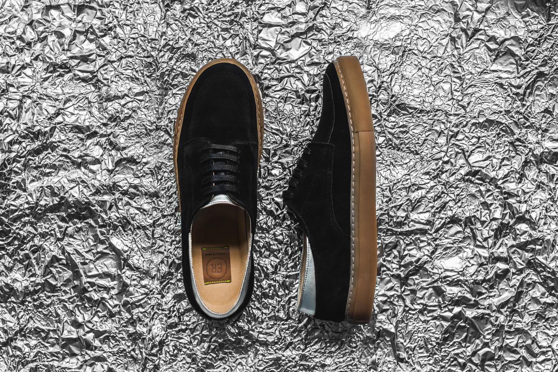 ER Souliers de Skate 2014 Spring/Summer INEZ Suede Sneakers