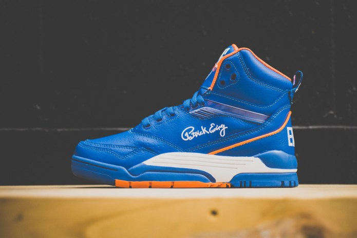 Ewing Center High Retro Blue/White/Orange