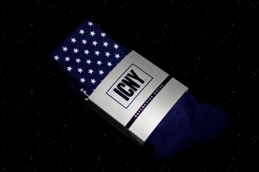 "Extra Butter x ICNY ""ACES"" Star 3M Reflective Socks"