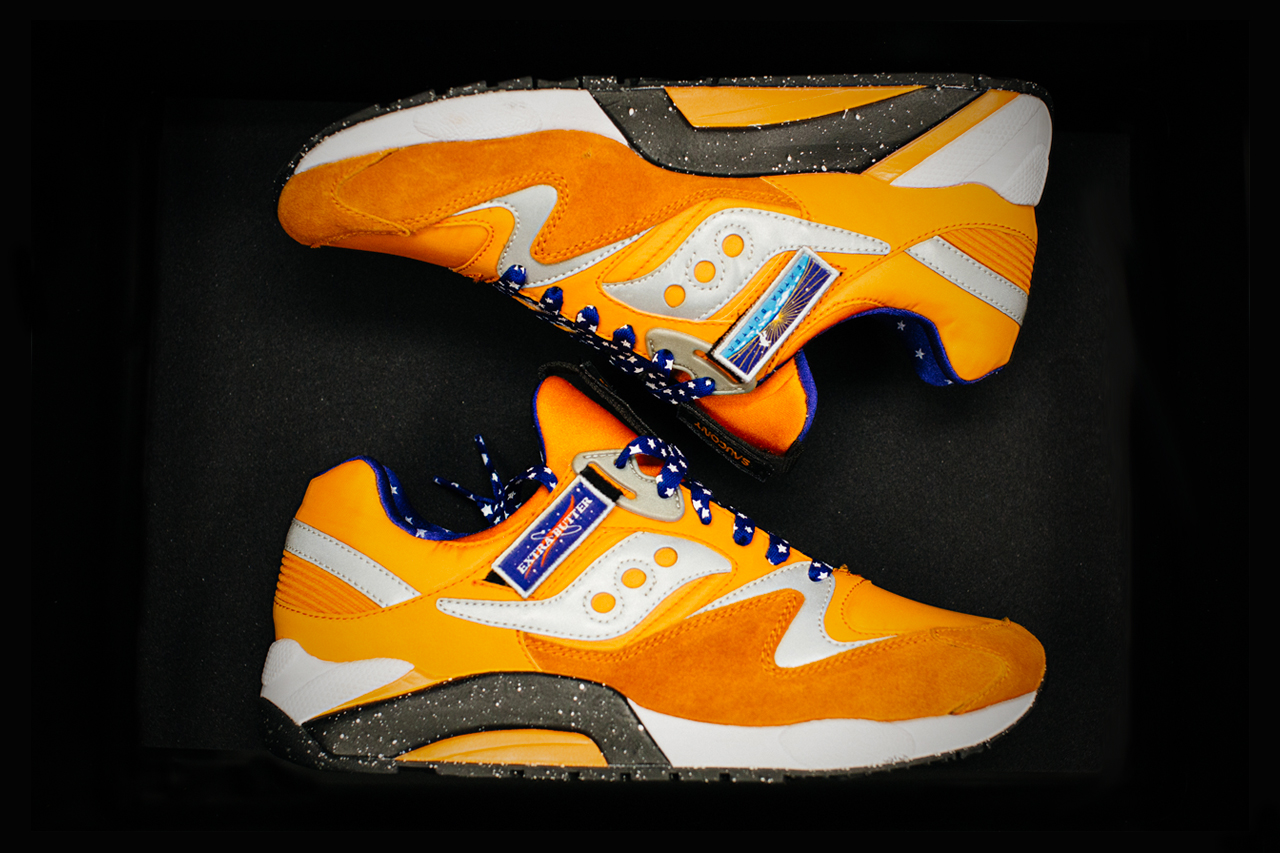 """A First Look at the Extra Butter x Saucony Grid 9000 """"ACES"""""""