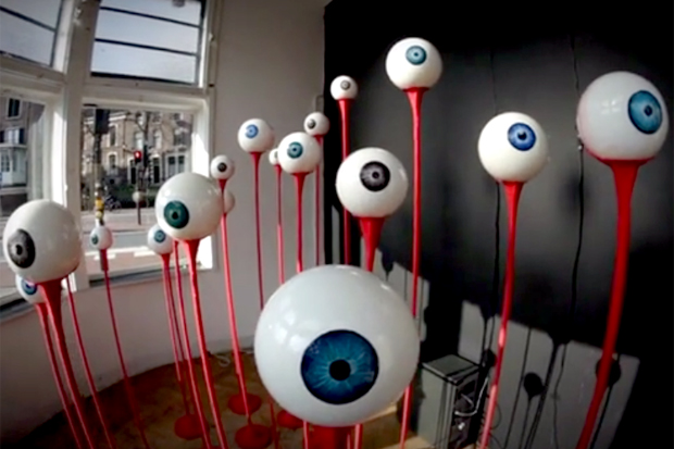 Eyestalkers Installation by Front404