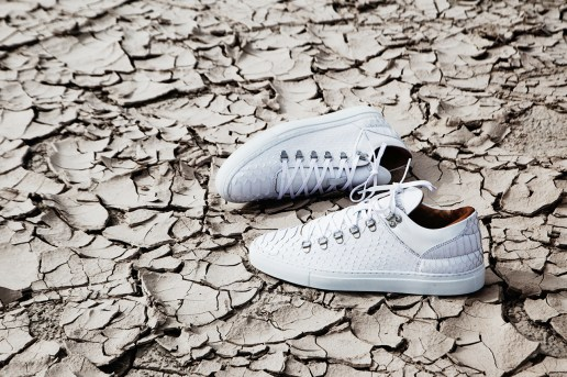Filling Pieces White Python Mountain Cut Sneaker