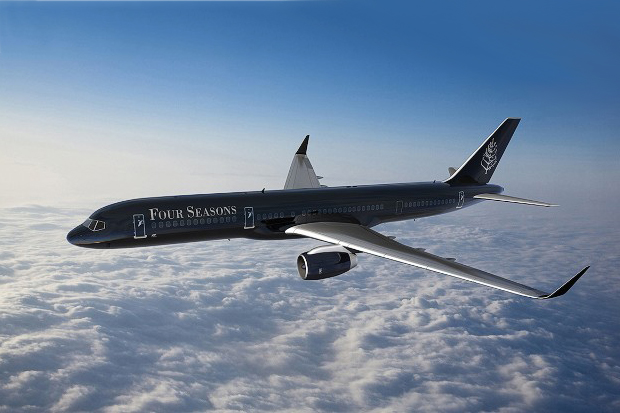 Four Seasons to Take Its Hotel Experience to the Skies