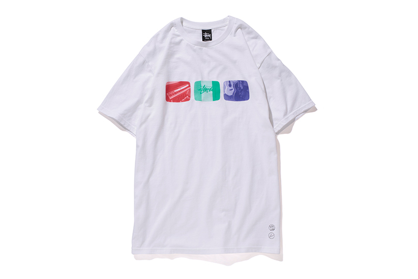 """fragment design x Stussy 2014 """"Cafe Tour"""" Capsule Collection"""
