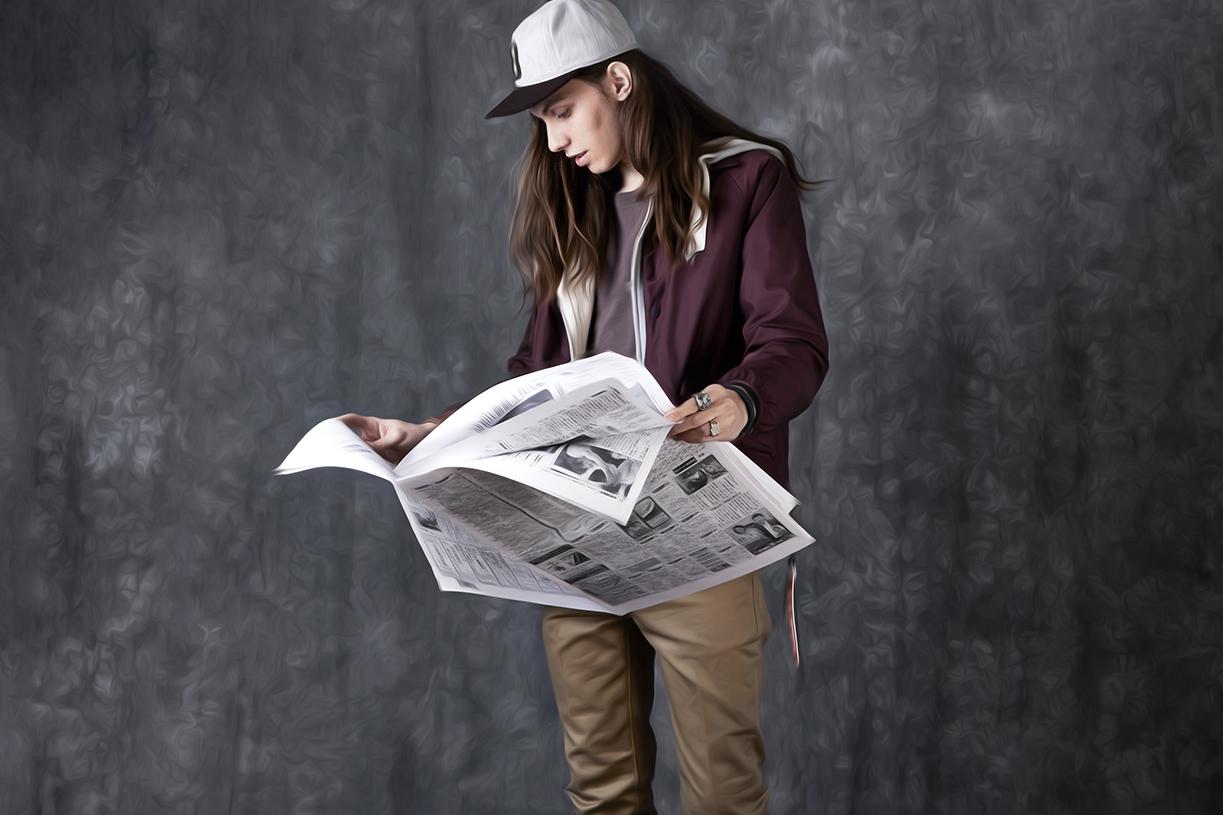 "Garbstore 2014 Spring/Summer ""News"" Lookbook"