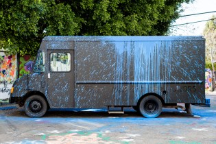 "Krink & Gatorade ""Expression of Bold and Intense Flavors"" Fierce Collective Truck"