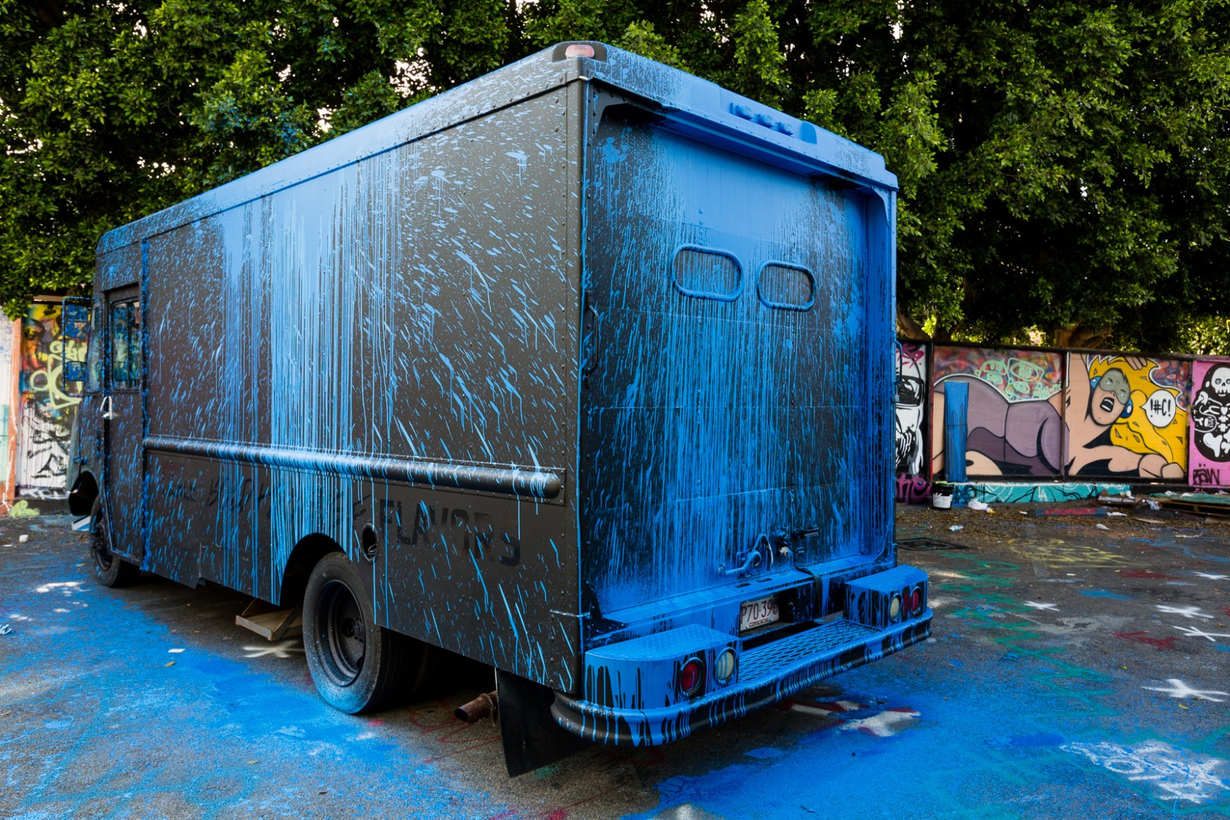 """Krink & Gatorade """"Expression of Bold and Intense Flavors"""" Fierce Collective Truck"""