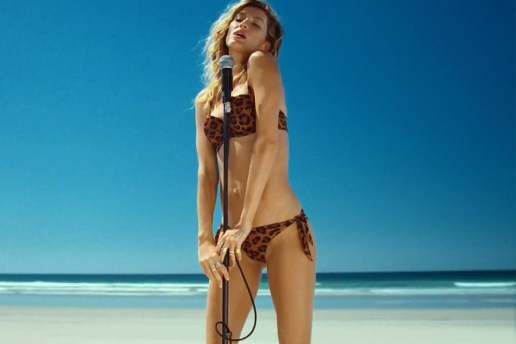 Check Out Gisele in H&M's 2014 Summer Swimwear Campaign
