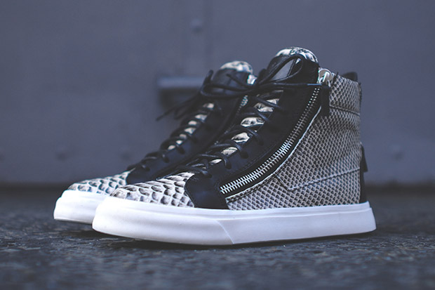Giuseppe Zanotti Snakeskin High-Top Kith Exclusive