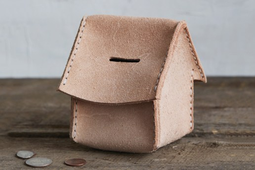 "Hender Scheme ""Home Bank"" Pouch"