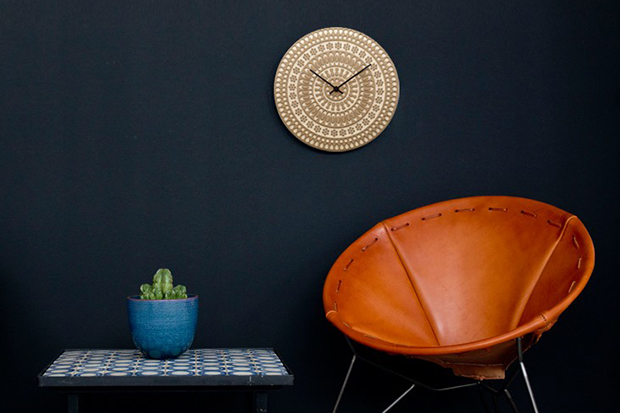 House Industries x Heath Ceramics Clocks