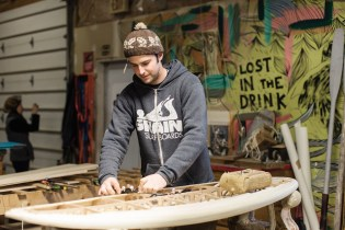 PROCESS: Making Surfboards the New England Way with Grain Surfboards