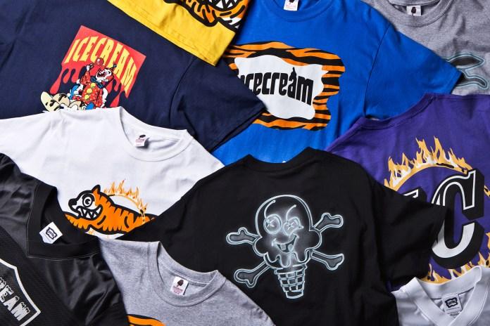 ICECREAM 2014 Spring/Summer T-Shirts