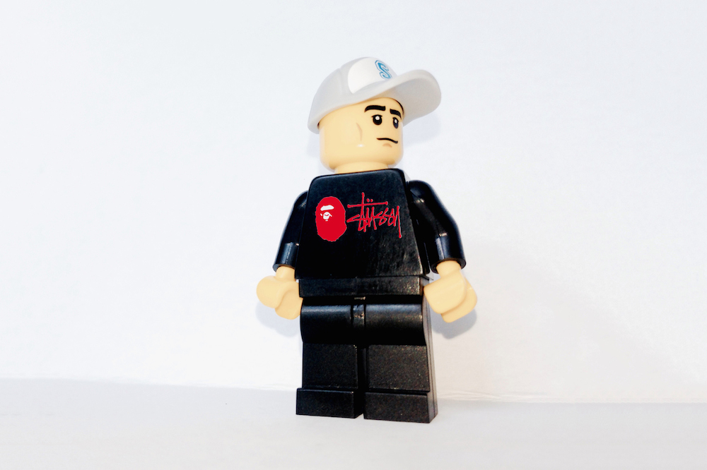 iconic streetwear brands imagined as legos
