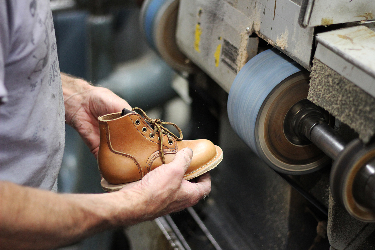 viberg create a rare infant sized version of their infantry boot