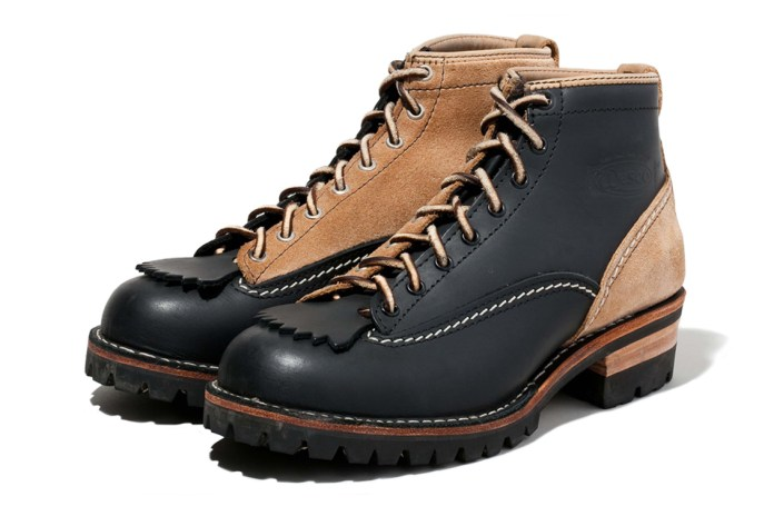 NEIGHBORHOOD x Wesco JOBMASTER 2FACE CL Boots