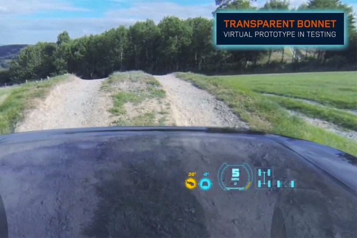 "Land Rover to Debut ""Transparent Hood"" Technology at New York Auto Show"