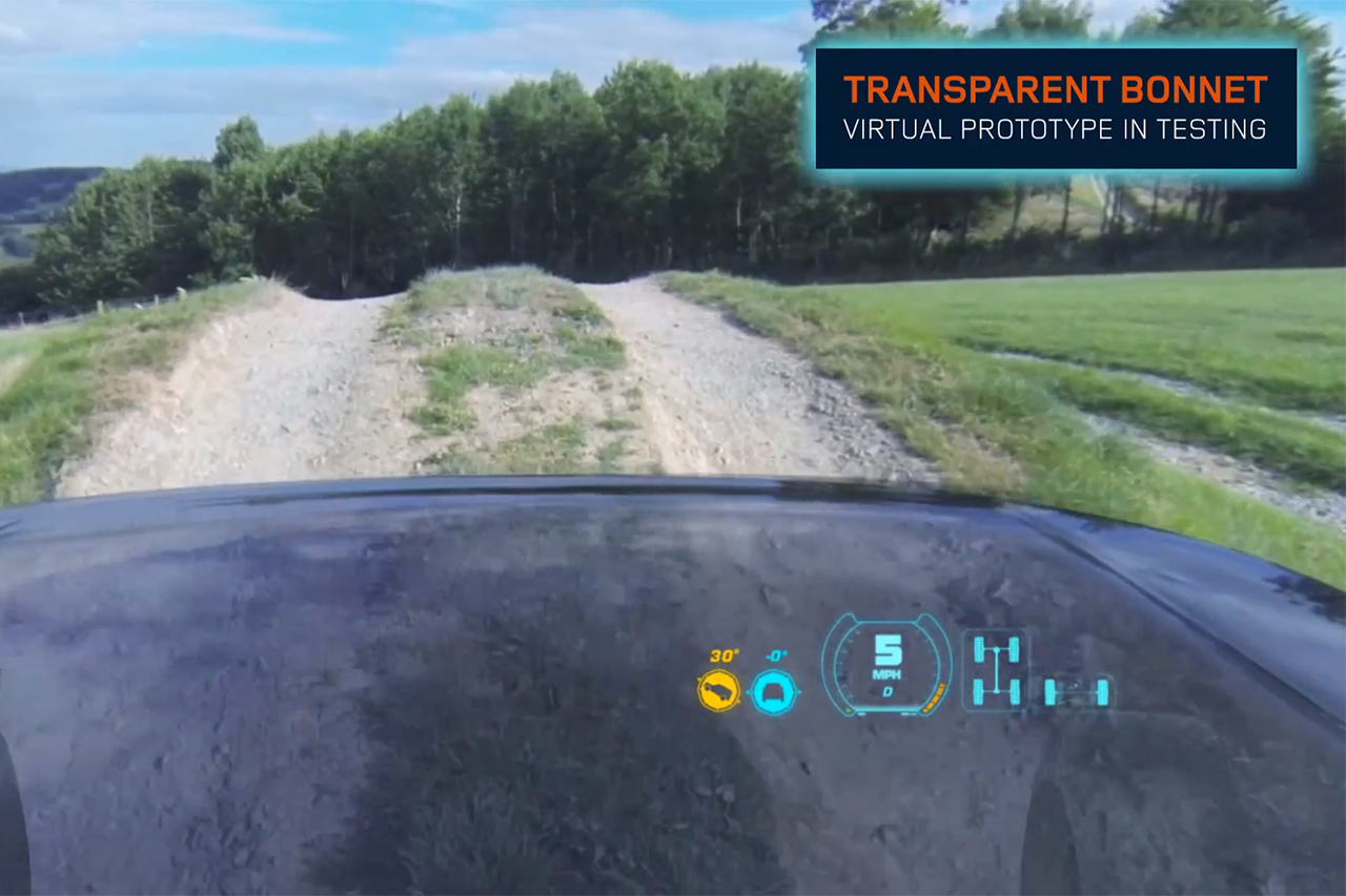 """Land Rover to Debut """"Transparent Hood"""" Technology at New York Auto Show"""