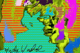 Lost Andy Warhol Digital Works Found on Floppy Disks